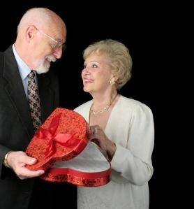 Romantic Valentine Seniors