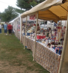 flea market in Indiana