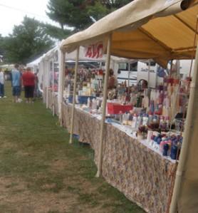 flea market in Indiana