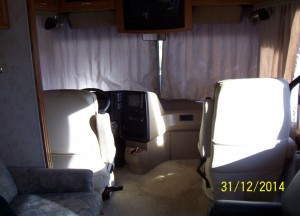 front seats swivel