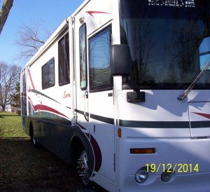 34 foot journey winnebago rv