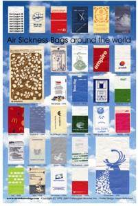 air sickness bags poster