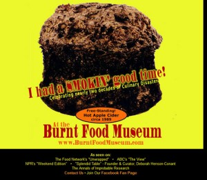 burnt food museum