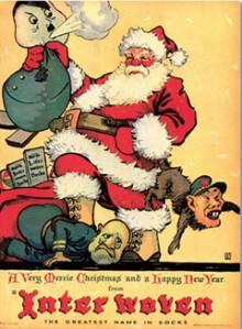 poster of dangerous santa