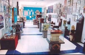 toilet seats in museum